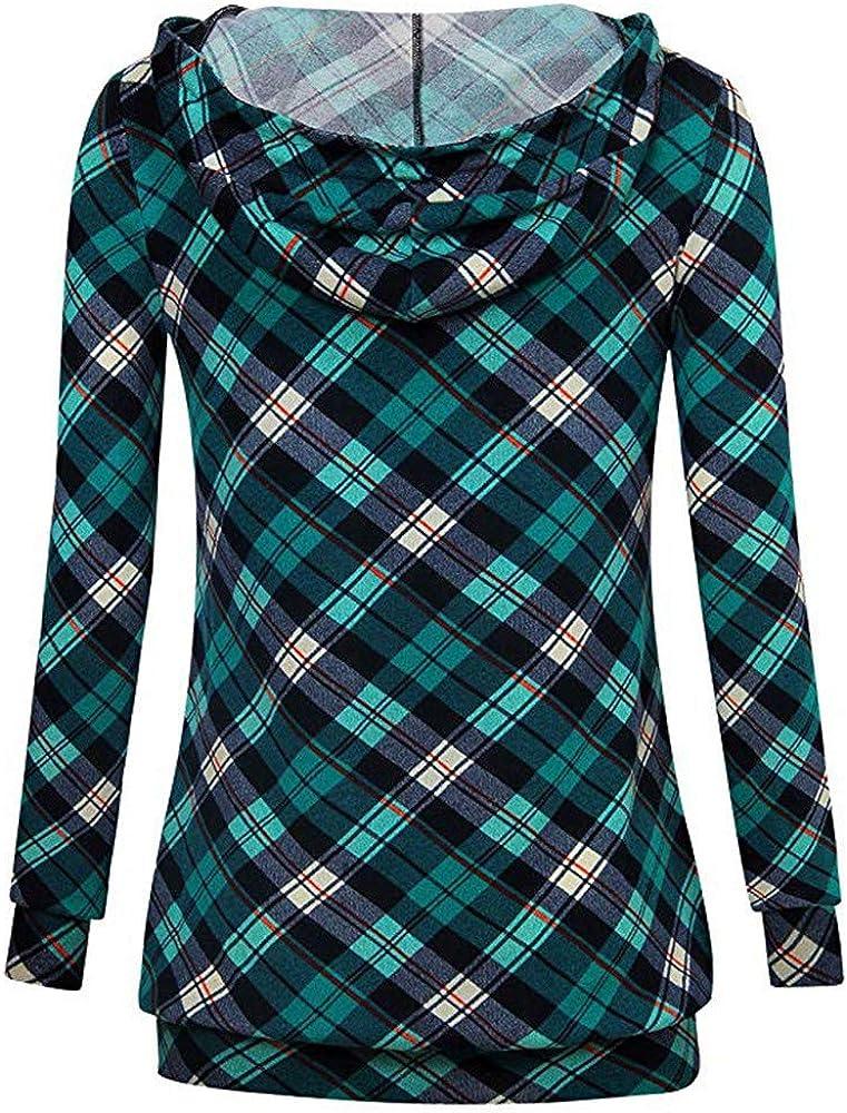 Mikkar Fashion Casual Womens Long Sleeve Sweatshirt Jumper Pullover Print Bloe
