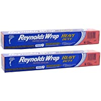 Reynolds Wrap - Heavy Duty Aluminum Foil - 50 Square Foot Roll - Pack of 3