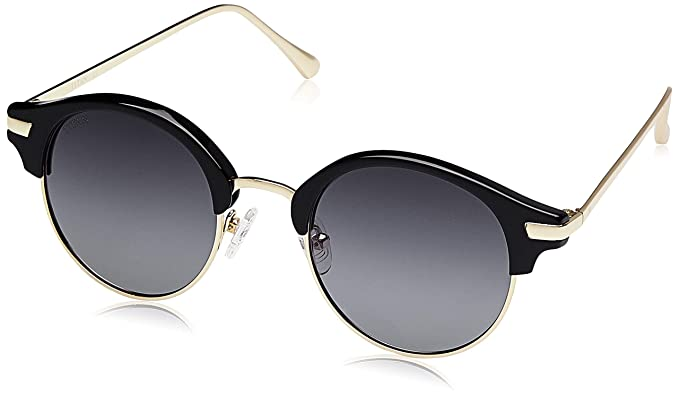 229630f02ba5a Titan UV Protected Round Women s Sunglasses - (GC295BK2FP