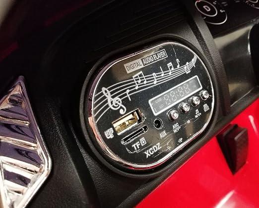 giordano shop Máquina Eléctrica para Niños 12 V Audi R8 Spyder roja: Amazon.es: Juguetes y juegos
