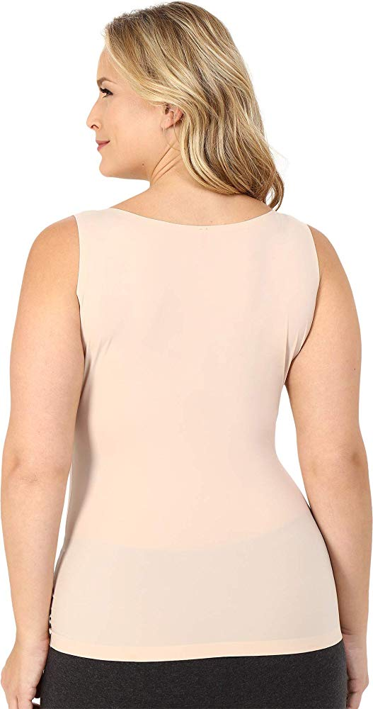 SPANX Slimplicity NUDE Control Open Bust Cami Tank Top Shaper Womens S M XL 1X