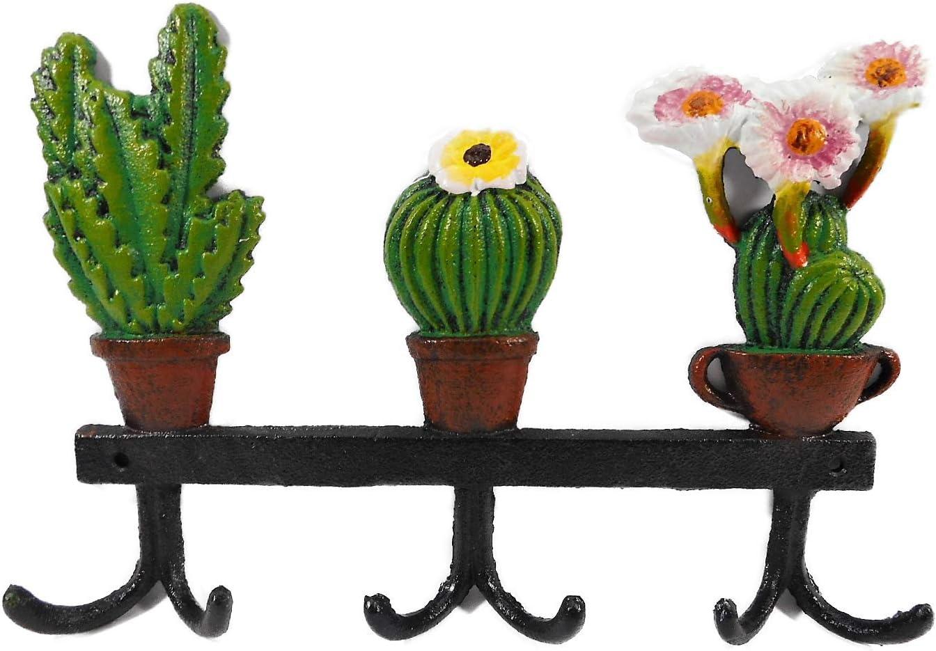 Gusseisen GGR D30 - Perchero (18 x 26 cm, Hierro Fundido), diseño de Cactus