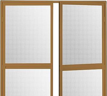 Duo Pro - Mosquitera con bisagras para puerta abatible, aluminio, 200 x 240 cm, antiarañazos, marco giratorio compatible con puertas y ventanas: Amazon.es: Bricolaje y herramientas