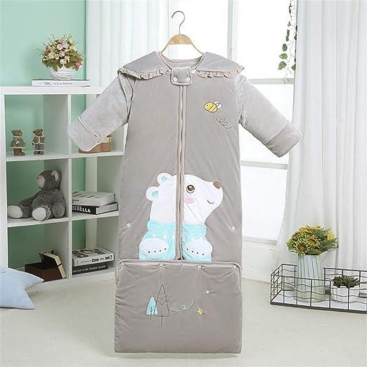 HJJGRASS Dormir del bebé Bolsa de 100% algodón Camas Vivero usable ...