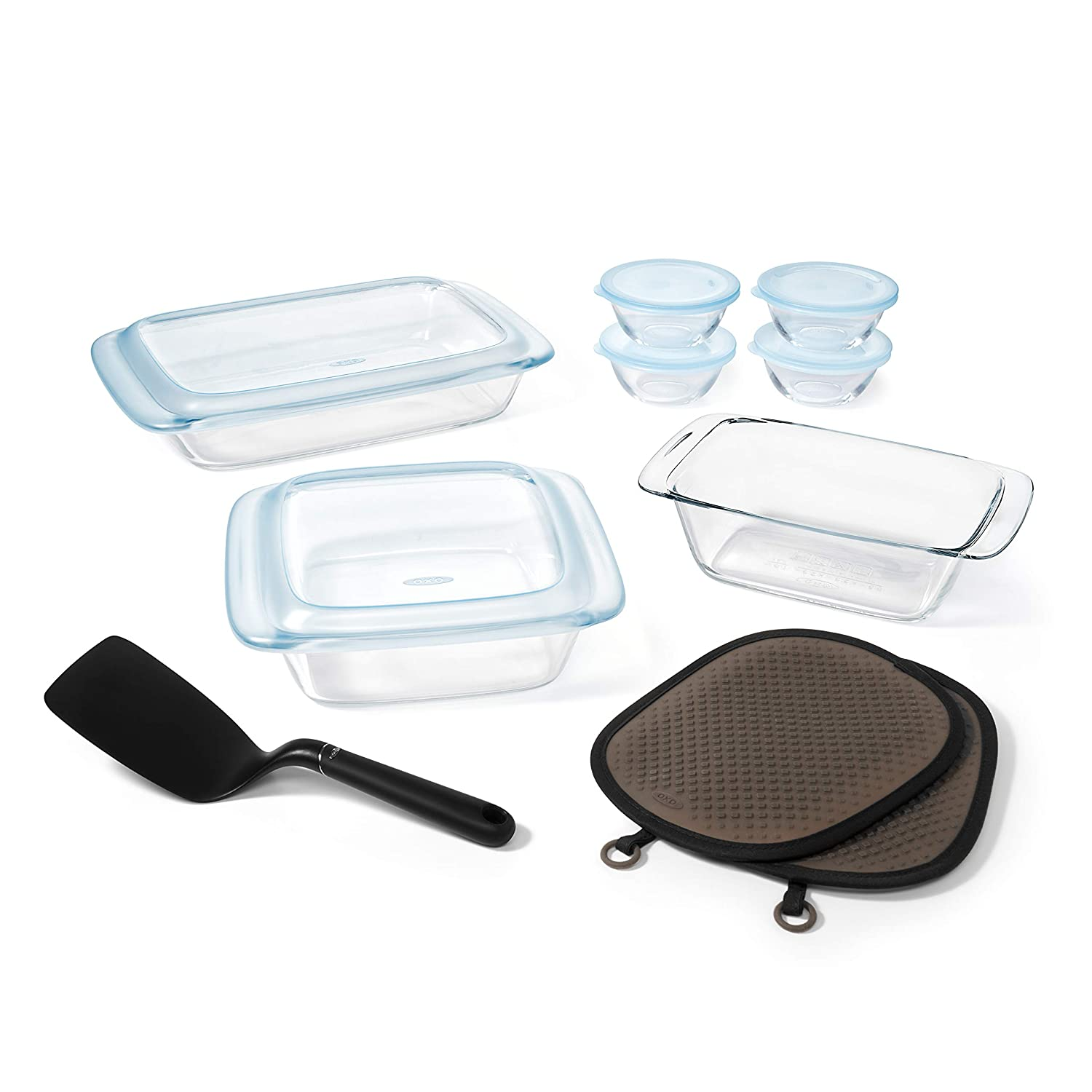 OXO Good Grips Freezer-to-Oven Safe 1.6 Qt Glass Loaf Pan 11176000
