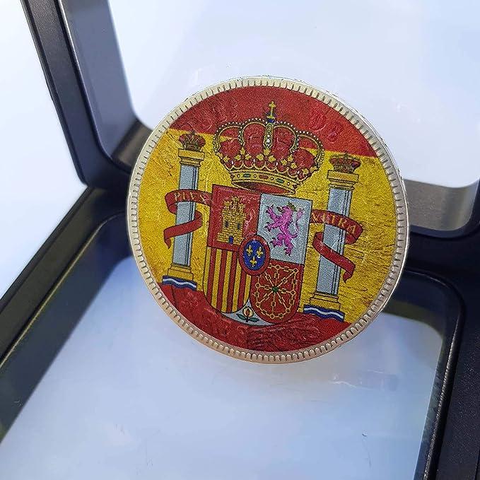 IMPACTO COLECCIONABLES Monedas de España - 5 Pesetas acuñada en ...