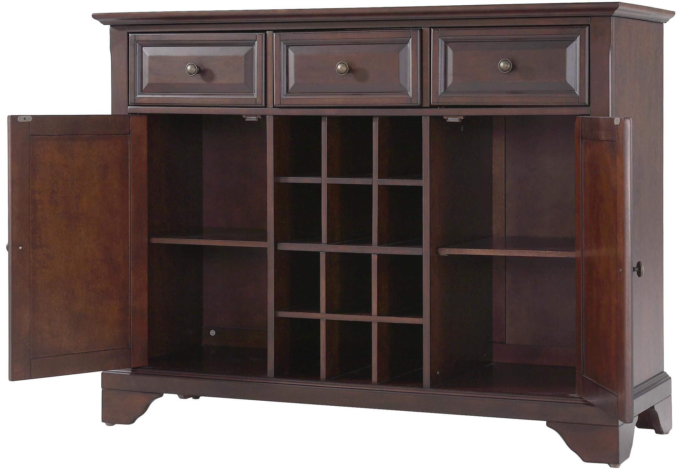 Crosley Furniture LaFayette Wine Buffet / Sideboard - Vintage Mahogany by Crosley Furniture (Image #2)
