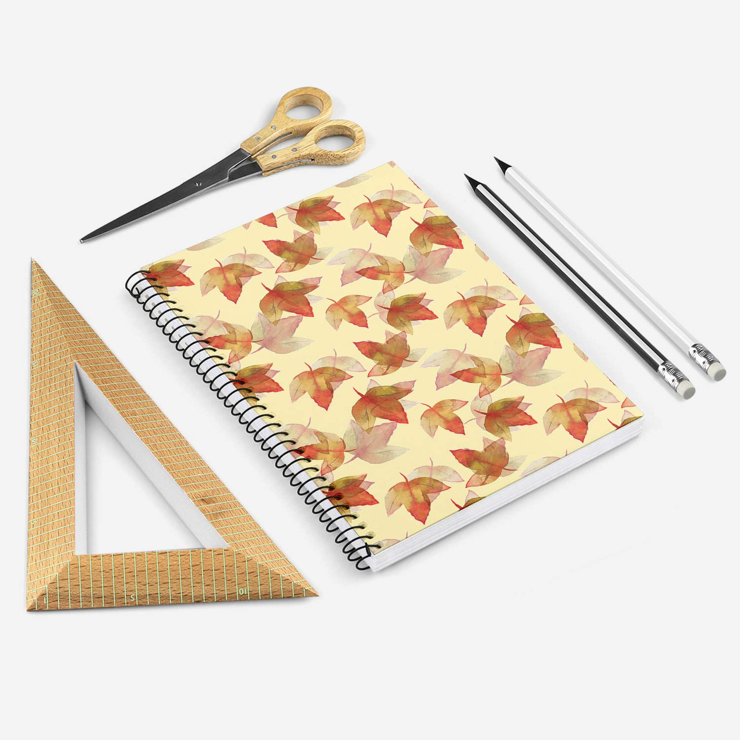 Hardcover 96 Sheets Wood-free Paper Notebook A5 Diary Writing Notepad Gift  #S5