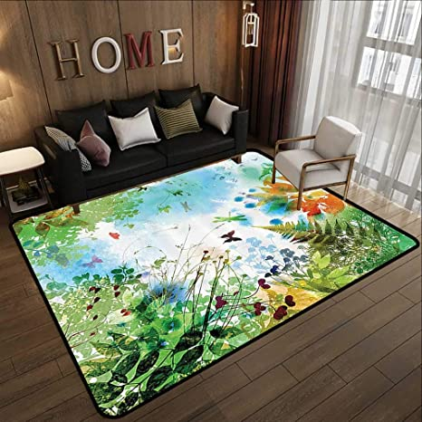 Amazon.com: Contemporary Indoor Area Rugs,Country Decor ... on football house designs, sunset house designs, wall house designs, fun house designs, fitness house designs, house house designs, winter house designs, flower house designs, above ground house designs, indoor design ideas, outdoor house designs, hockey house designs, painting house designs, tree house designs, bedroom house designs, household interior designs, residential house designs, college house designs, spa house designs, indoor architecture,