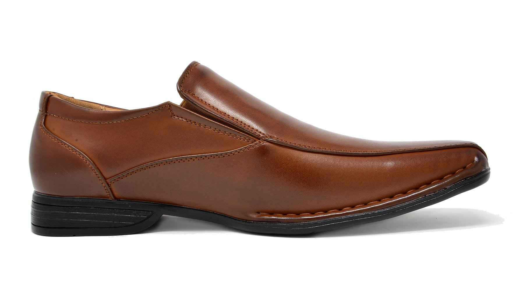 Bruno Marc Men's Giorgio-1 Brown Leather Lined Dress Loafers Shoes - 11 M US by BRUNO MARC NEW YORK (Image #3)