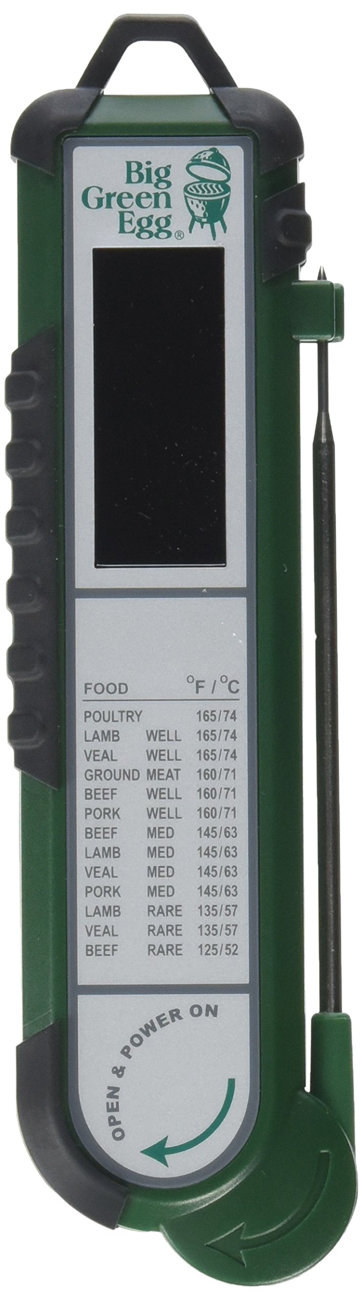 Big Green Egg Instant Read Digital Food Thermometer PT100 by Big Green Egg