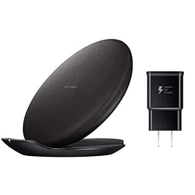 Samsung Qi Certified Fast Charge Wireless Charging Convertible Stand/Pad - US Version - Black - EP-PG950TBEGUS
