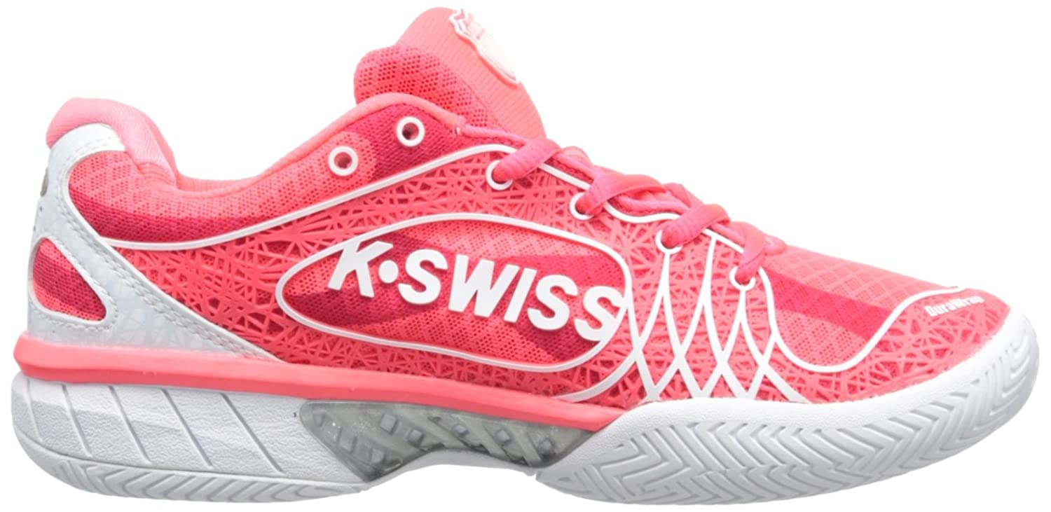 Ks Tfw Ultra-Express-neon Red/White, Womens Tennis K-Swiss