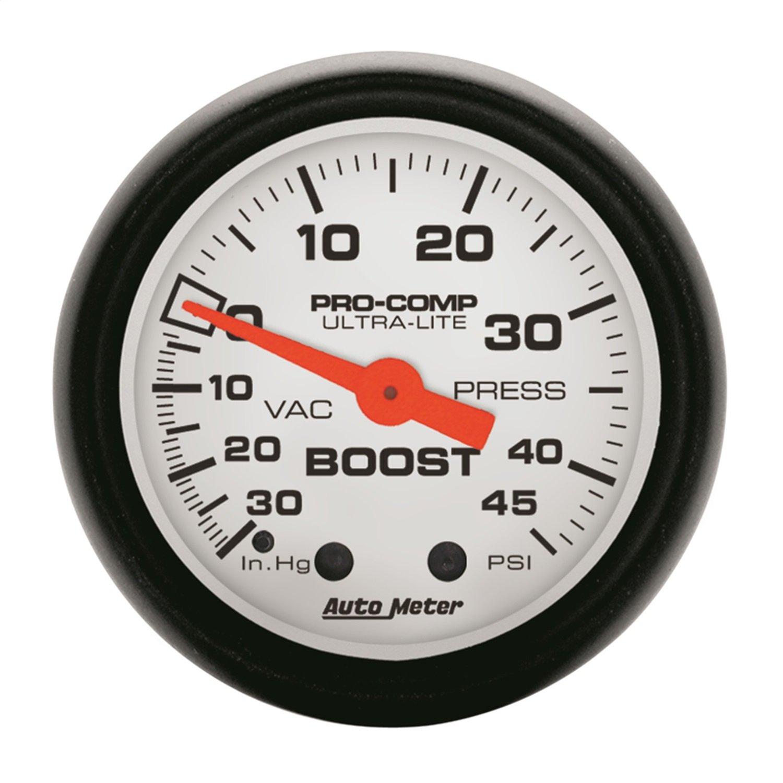 Auto Meter 5708 Phantom Mechanical Boost/Vacuum Gauge