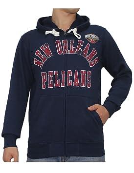 NBA para hombre New Orleans pelícanos Athletic chaqueta con cremallera Sudadera con capucha/L Azul Oscuro: Amazon.es: Deportes y aire libre