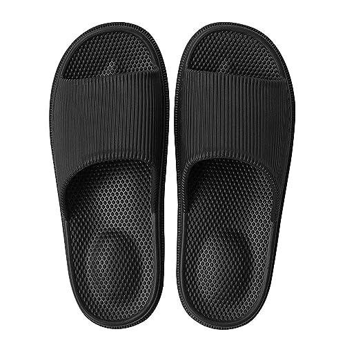 Decai Ciabatte da Mare Uomo Donna Pantofole Fascetta Larga Sandalo Perfetto per L'Estate Piscina Spiaggia Sandali Massaggio Ciabatte Slippers Scarpe