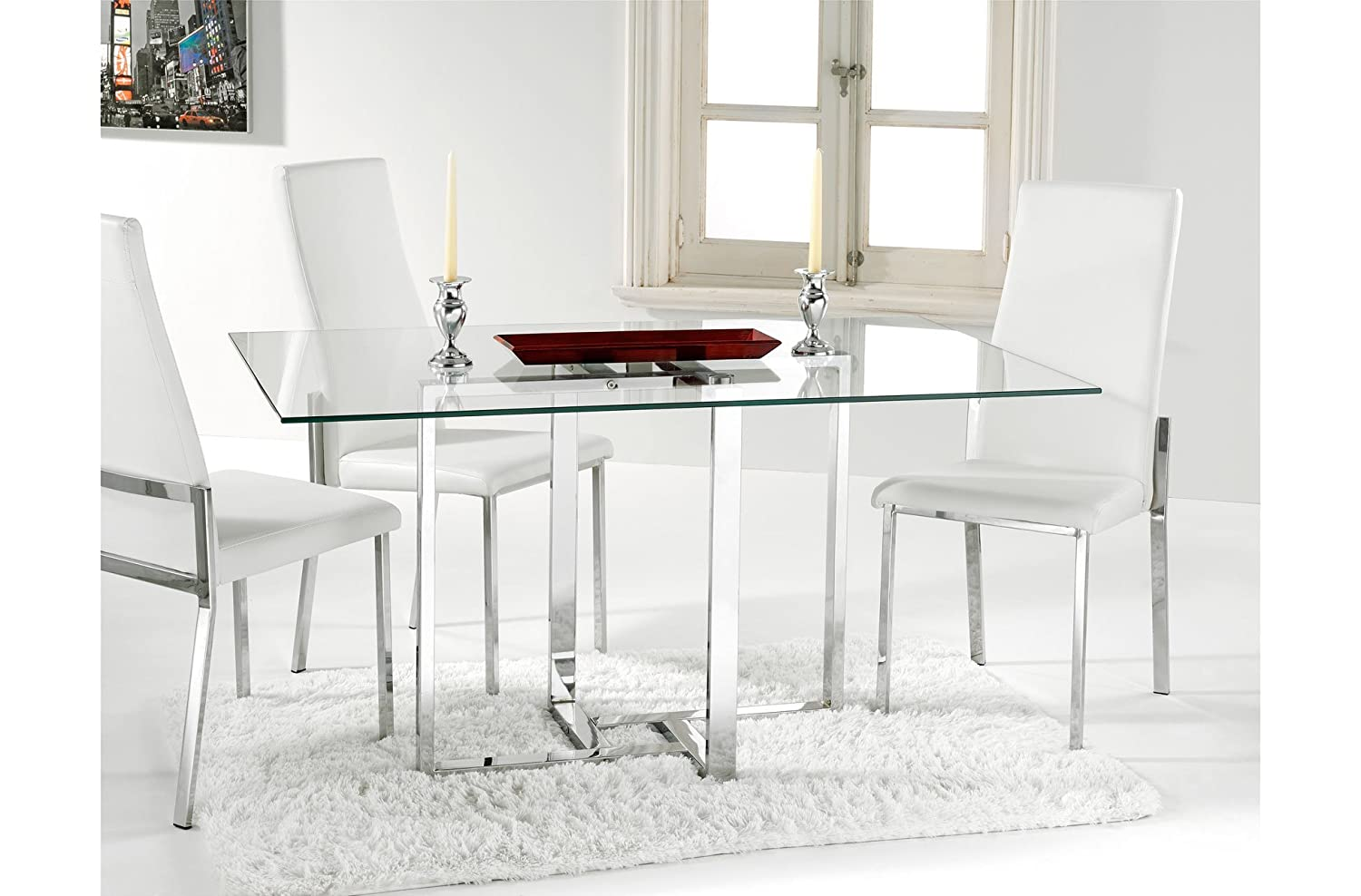 Mesa de comedor amazon for Mesas de comedor amazon