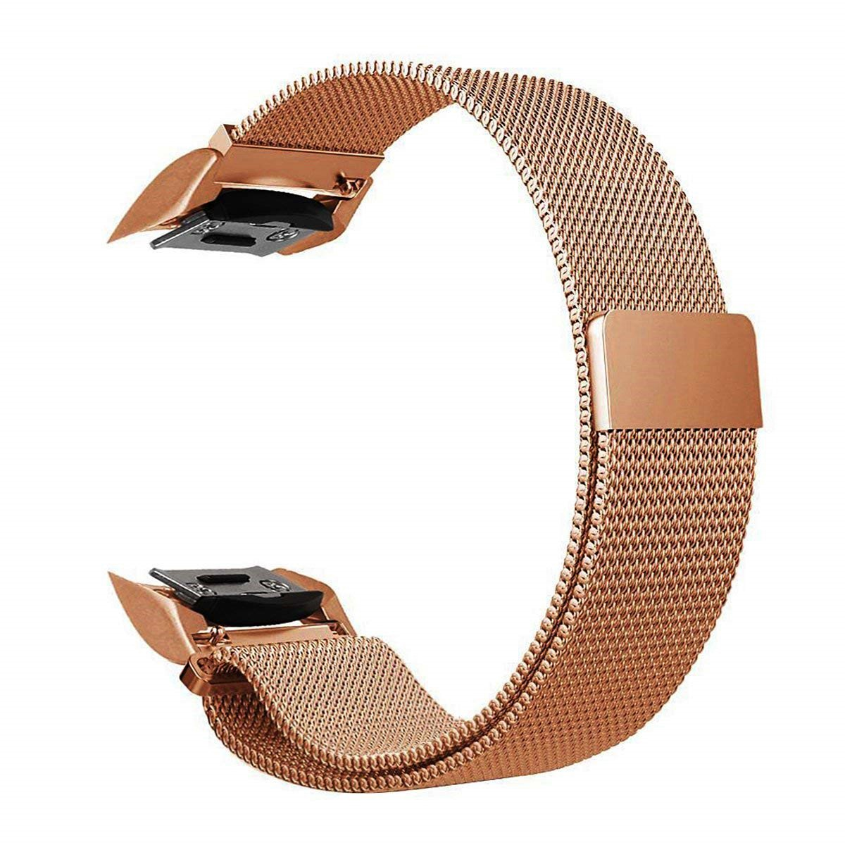 for Samsung Gear S2 Watch Band, Milanese Loop Replacement Wristband Magnetic Closure Clasp with Adapters for Samsung Gear S2 SM-R720 / SM-R730 Smart Watch