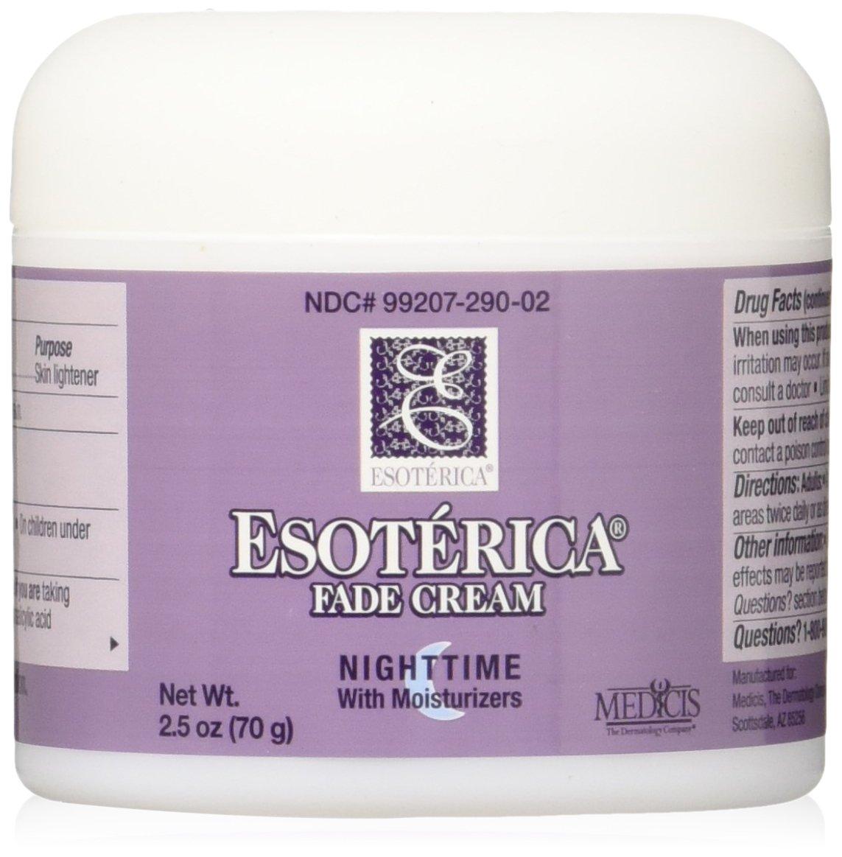Esoterica Fade Cream Nighttime With Moisturizers, 2.5 oz