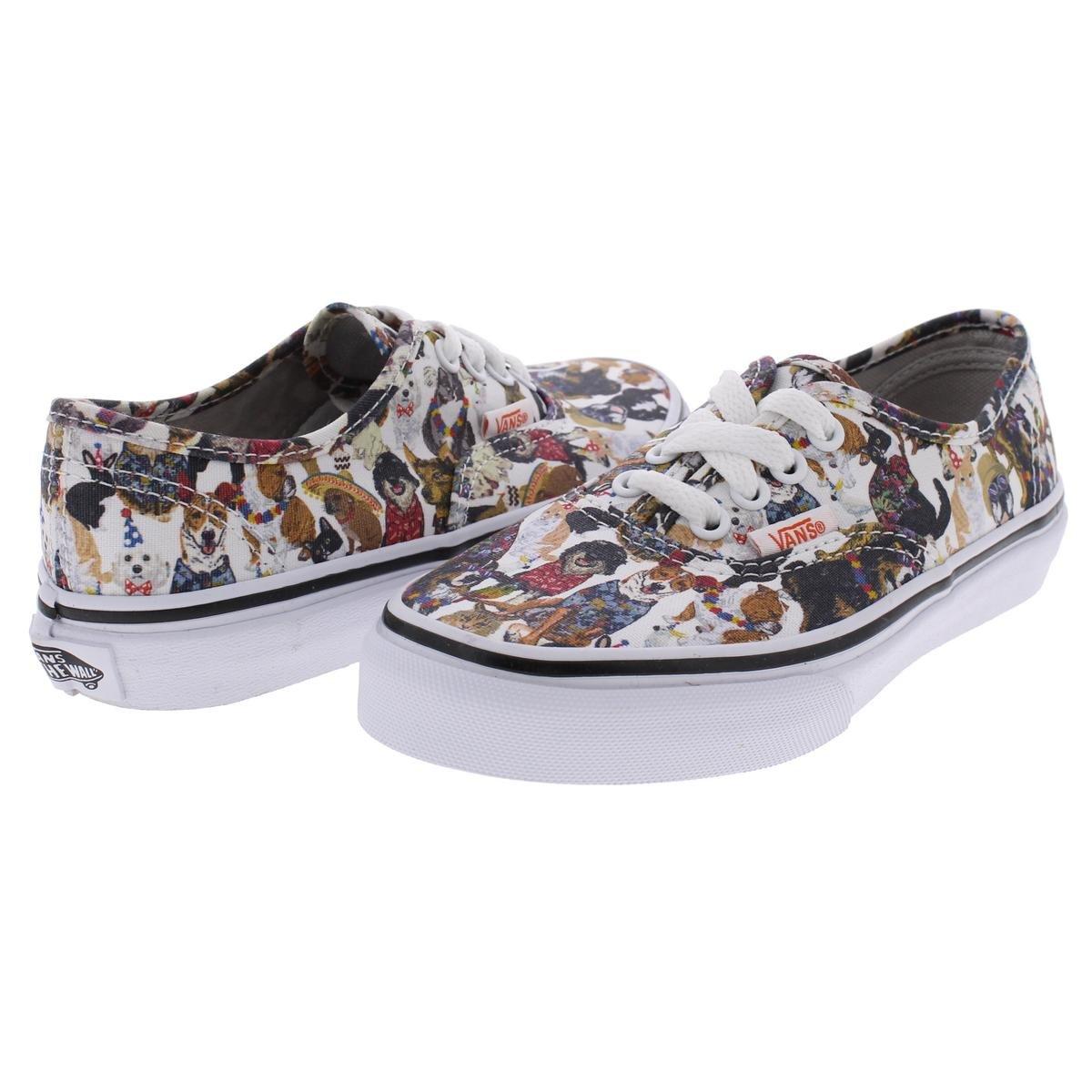 9ded671ae5 Vans Boys ASPCA Dogs Cats Skate Shoes White 1 Medium (D) Little Kid   Amazon.co.uk  Clothing