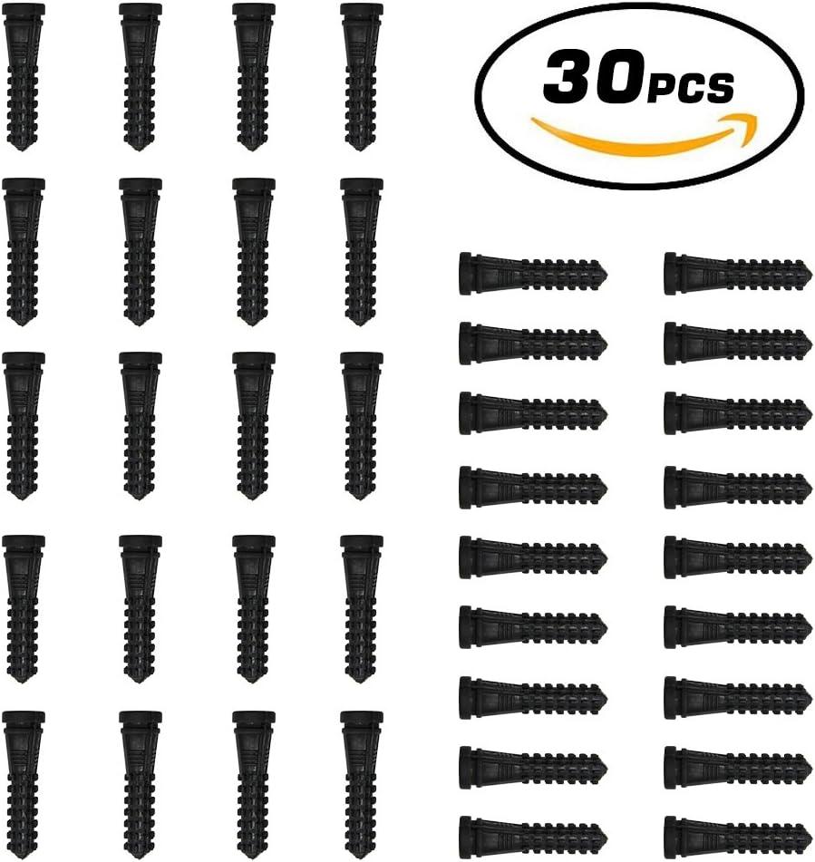 Huatuo® 30 PCS Nuevo empaquetado Dedos para Plucker máquina del retiro de Plumas de Pato Pato de Goma