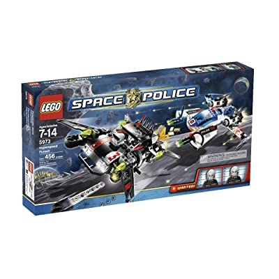 LEGO Space Police Hyperspeed Pursuit (5973): Toys & Games