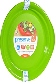 product image for Preserve Plate Apple Green, 4 ct