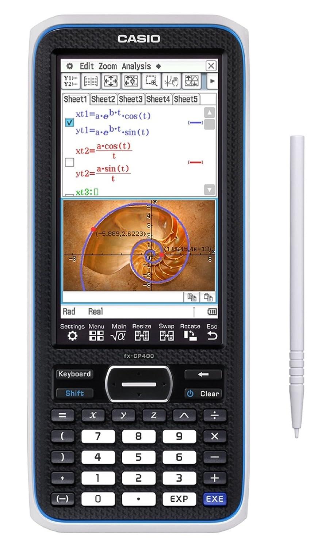 CASIO FX CP E–Calculadora gráfica con modo examen