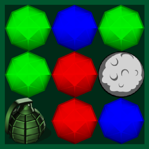 Gem Breaker - match three bubble game