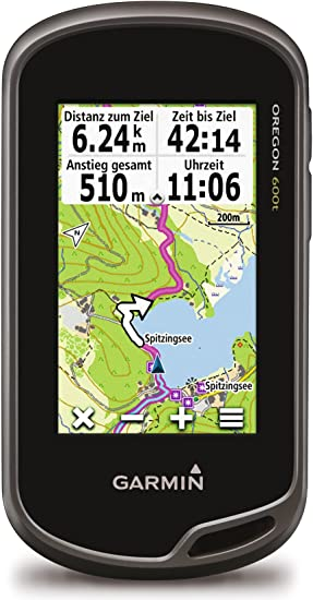 Garmin Oregon 600t - Navegador GPS (NMEA 0183, All Europe, 76.2 mm ...