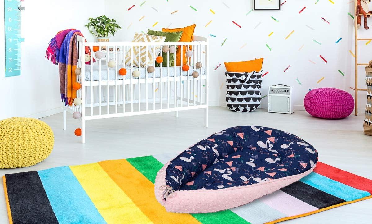 Multifonctionnel Baby-Nest Nid Pour B/éb/é nourrisson respirant Cocon R/éversible 2-verso ocon Oeko-Tex Cygnes 100