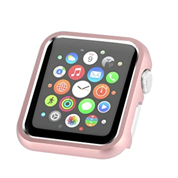 meet 915c3 54504 Amazon.com: Apple Watch Case 42mm, Compatible with iWatch Face Plate ...
