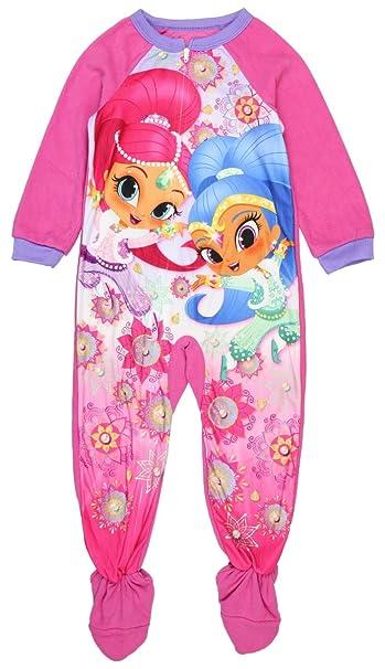 Chicas brillo y brillo Oficial De Pijamas Pjs Pjamas Ropa de dormir