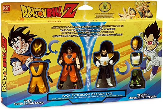 Dragon Ball 34410 - Pack Evolucion (Bandai): Amazon.es: Juguetes y ...