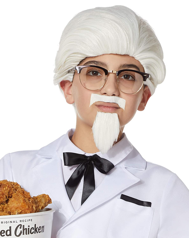 Amazon.com: Spirit Halloween KFC Coronel Sanders Disfraz ...