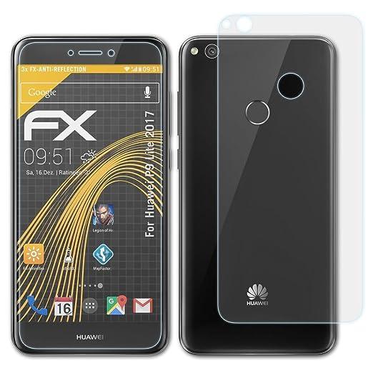 atFoliX Película Protectora para Huawei P9 Lite 2017 Lámina ...
