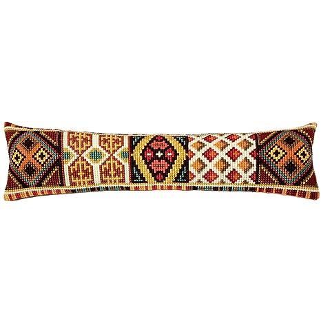 Amazon.com: African Squares Burlete Chunky – Kit de punto de ...