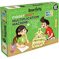 Smartivity Fidget Digit Multiplication Machine Stem, DIY, Educational, Learning, Building and Construction Toy