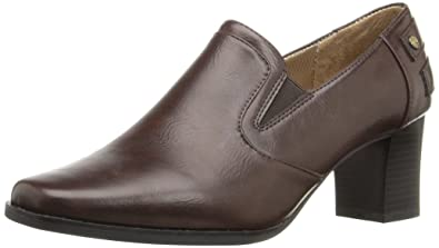 LifeStride Women's Scout Ankle Boot, Dark Brown, ...