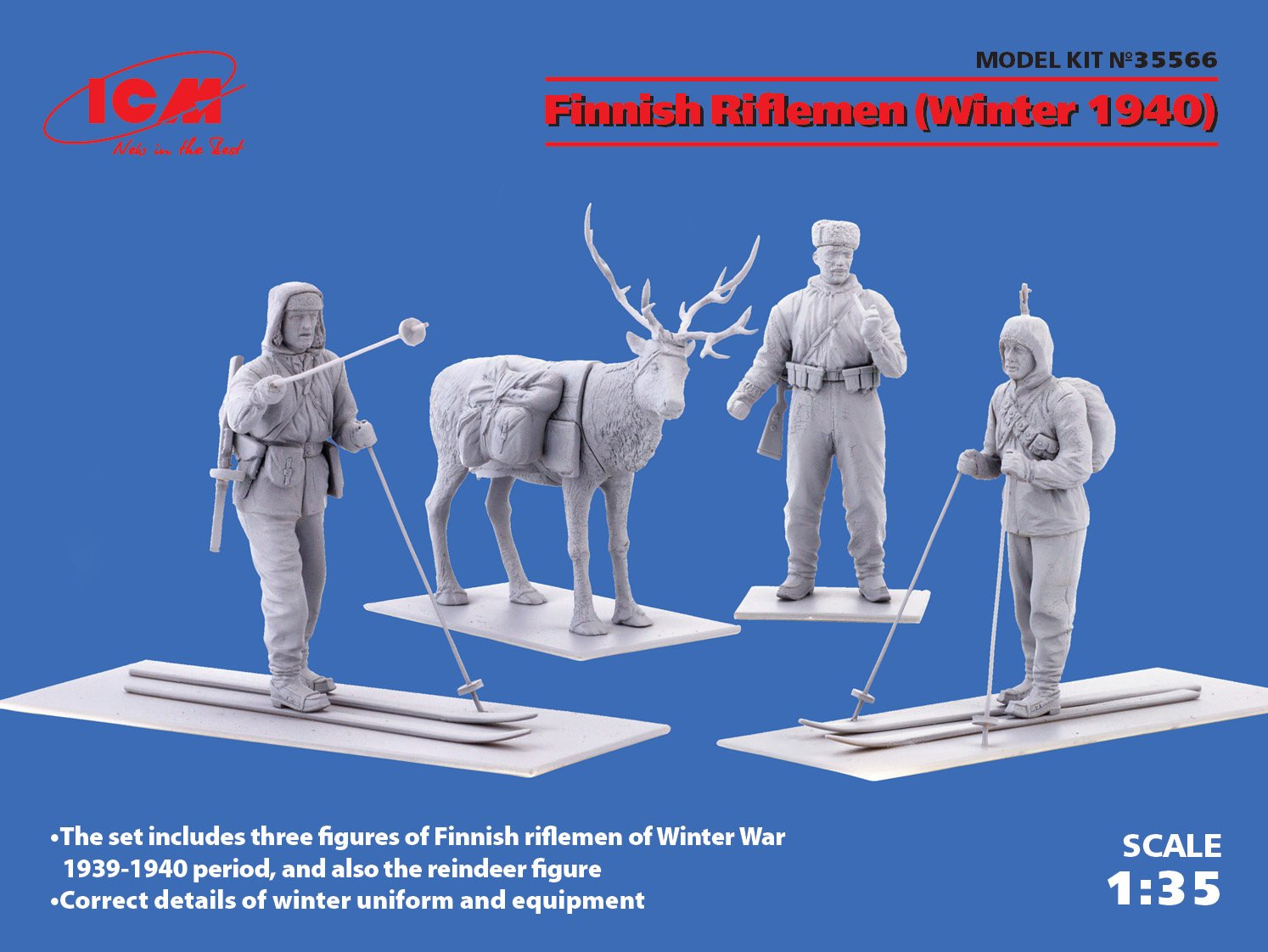 ICM 035566 Modellbau Hobby Zusammenbau detailliert