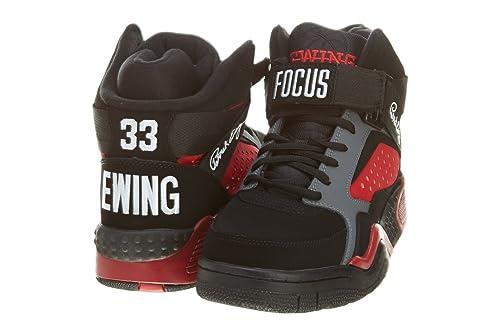 Patrick Ewing - Zapatillas de deporte para hombre Negro negro: Amazon.es: Zapatos y complementos