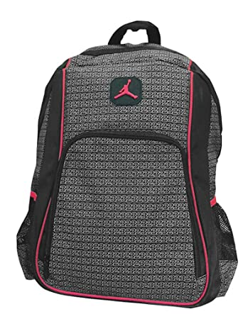 Jordan Boys Black   Red 23 Backpack (Black) 8b9d6fec49a86