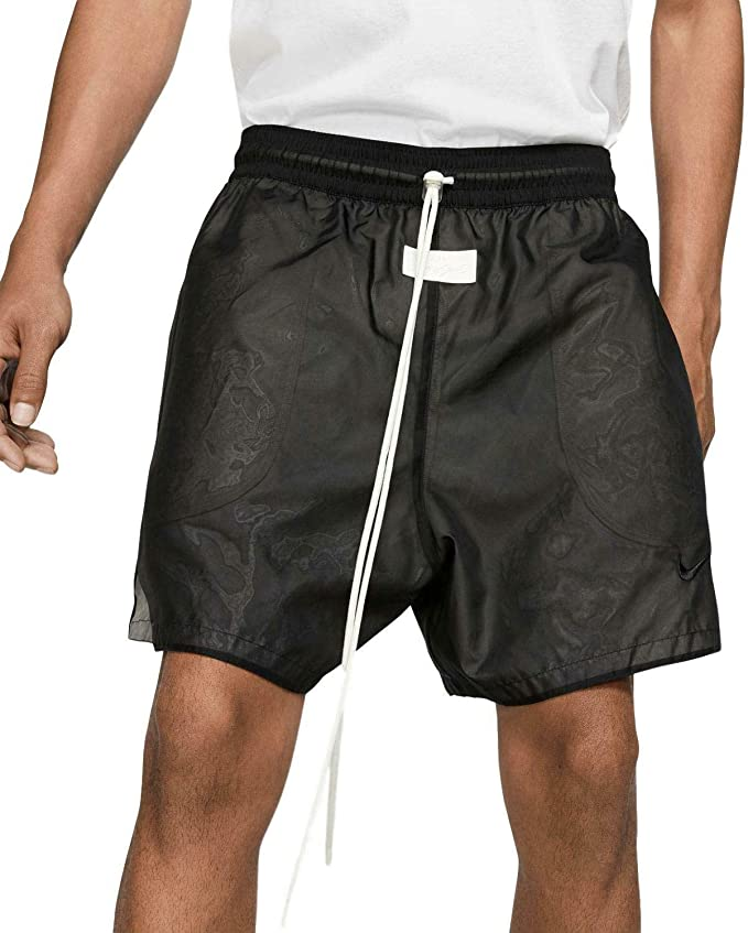 fear of god x nike shorts