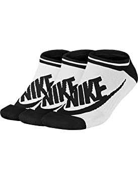 Nike NSW Womens -3PPK Striped NO SH - Calcetines: Amazon.es: Deportes y aire libre