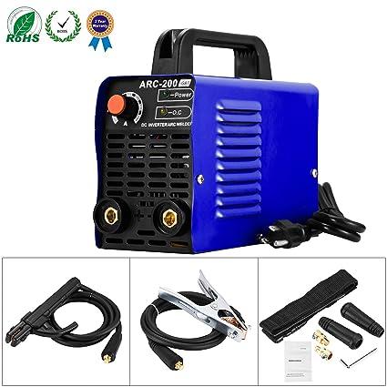 welding machine arc 200 igbt inverter welder ac dc 110v 200 amp