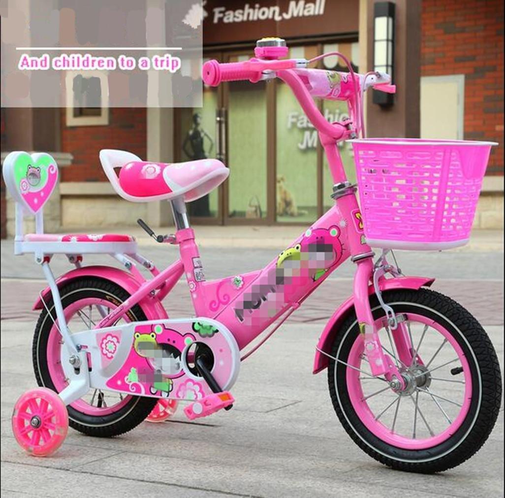 Kids Balance Bike Aprendizaje Infantil Ciclo de Entrenamiento Niños Ligeros Niños Niñas Correr Seguridad Primero Bicicleta de arranque Auxiliar Rueda de color Bicicleta , Pink-L100CM