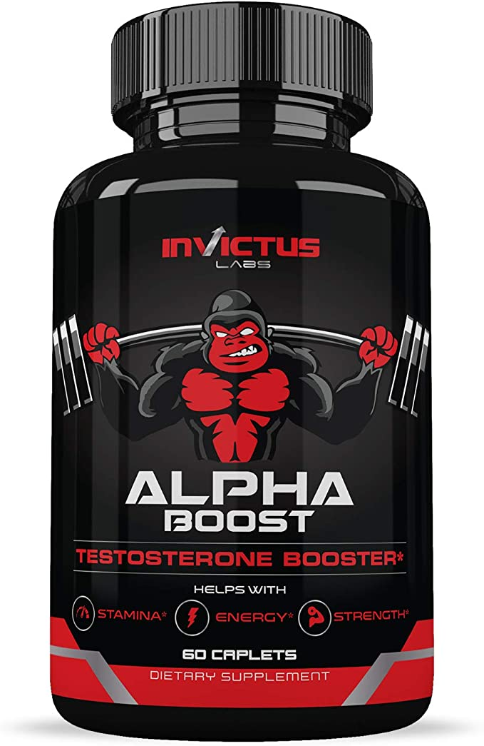 Invictus Labs Extra Strength Testosterone Booster for Men