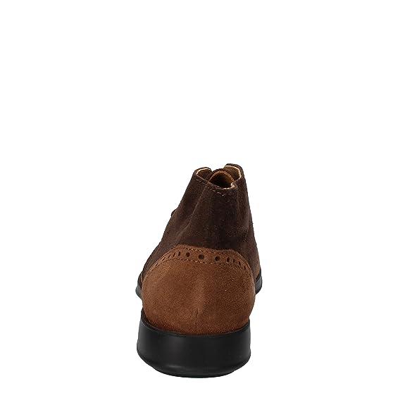 LE VIVALDI Botines Hombre Gamuza marrón: Amazon.es: Zapatos y complementos