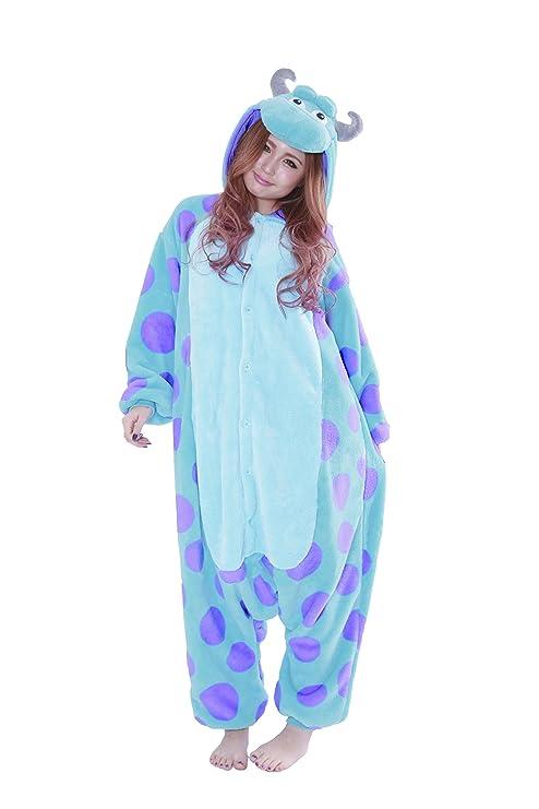 Sully Kigurumi Sazac (la Monsters) disfraz pijama: Amazon.es: Juguetes y juegos