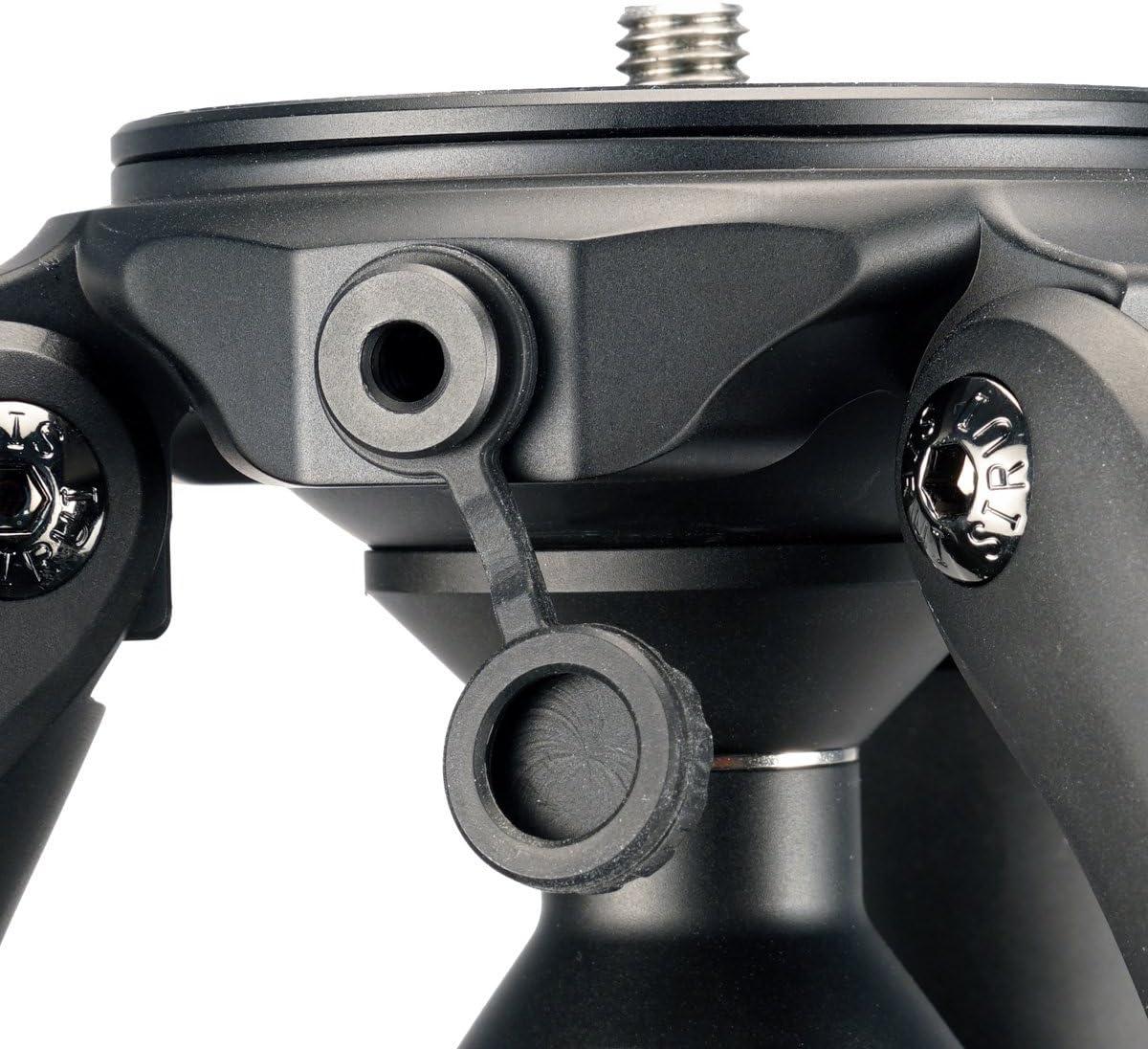 Includes Sirui USA 6-Year Warranty Max Load 55lbs Sirui SR3004 SR-Series Multi Use Carbon Fiber 4-Section Platform Tripod Legs Set